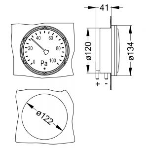 DIFFERENZDRUCKANZEIGER DA2000 kon 1000x1000 300x300 - Differenzdruckanzeiger DA2000