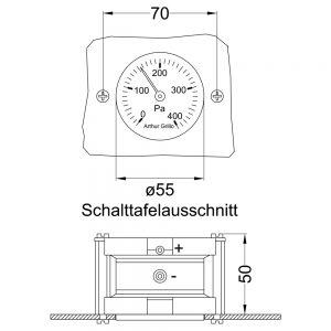 DIFFERENZDRUCKANZEIGER DA85 kon 1000x1000 300x300 - Simpler Differenzdruckanzeiger DA85
