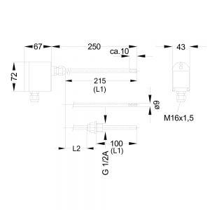 Kanaltemperaturmessumformer MINI90P kon 1000x1000 300x300 - Mehrbereichsmessumformer MINI90