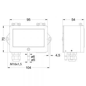 DIFFERENZDRUCKSENSOR DS85PE kon 1000x1000 300x300 - Mehrbereichsdifferenzdrucksensor DS85PE