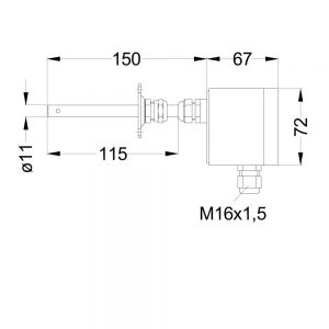 MEHRBEREICHSMESSUMFORMER PFT22K kon 1000x1000 300x300 - Temperaturfühler PFT22 Serie