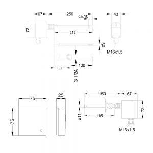 MEHRBEREICHSMESSUMFORMER PFT22 kon 1000x1000 300x300 - Temperaturfühler PFT22 Serie