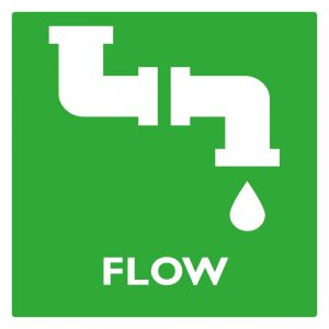 Product category logo: Pictogram product category FLOW