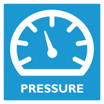 Product category logo: Pictogram product category PRESSURE