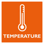 Product category logo: Pictogram product category TEMPERATURE